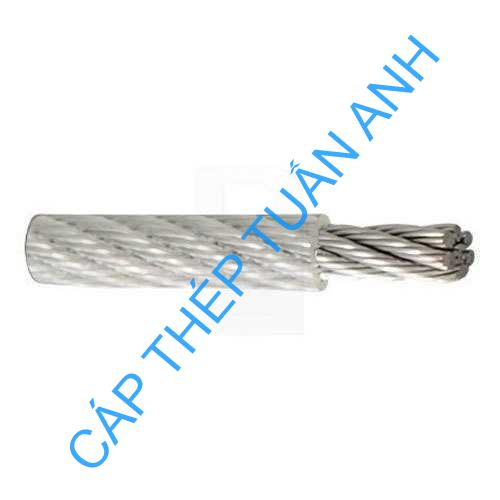 1000 meter pvc coated wire ropes