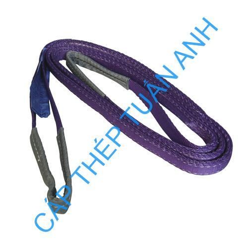 cap cau hang day cau hang webbing slings 1 tan 2 met