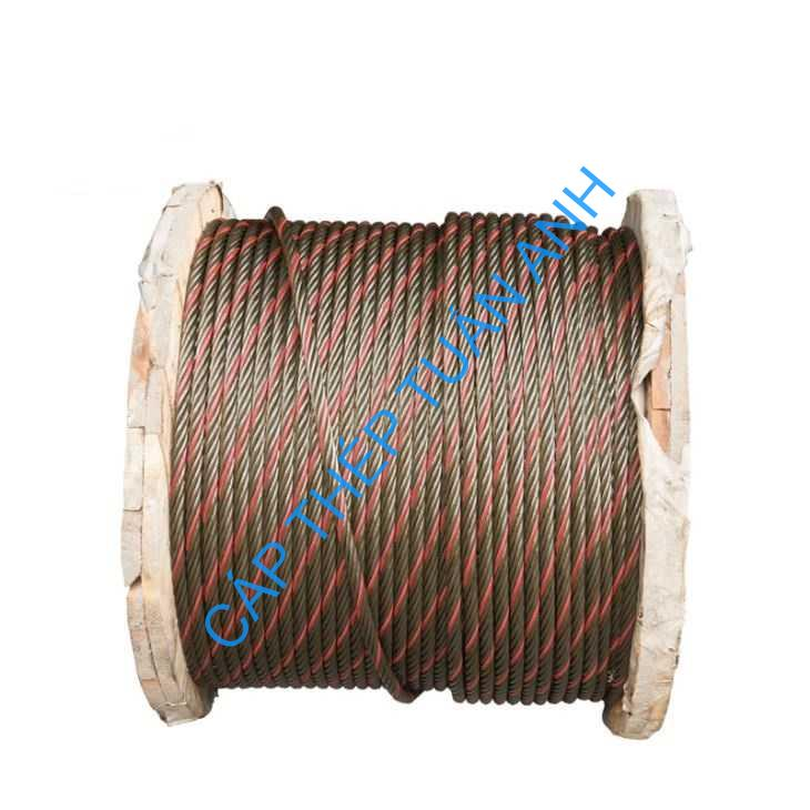 one blue and red strand wire rope for sale37497751807