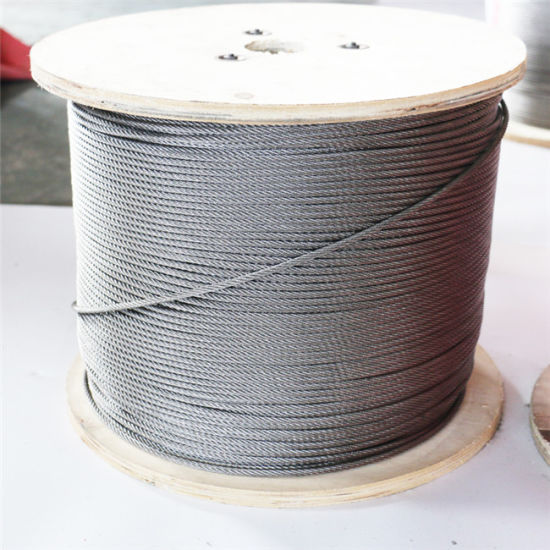 304 7X7 Stainless Steel Wire Rope Fishing Rope Extra Fine Wire Mold Rope