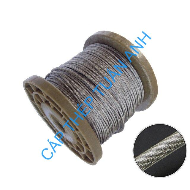 5Meters 3 4 5 6mm Diameter Steel PVC Coated Flexible Wire Rope Cable Transparent Stainless Steel 1.jpg 640x640 1