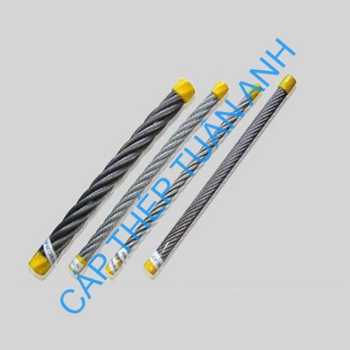 6mm 19X7 Steel Rope for Special Wooden Reel