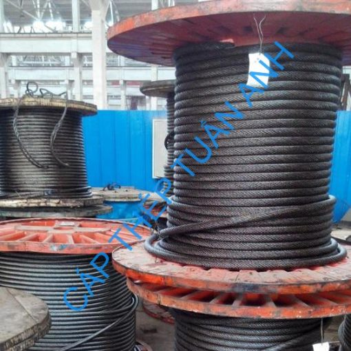 Non rotation resistance steel wire rope ungalvanized