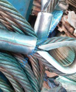 Bộ cẩu 4 chân - Sling cáp thép