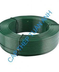 dây thép bọc nhựa pvc 1mm